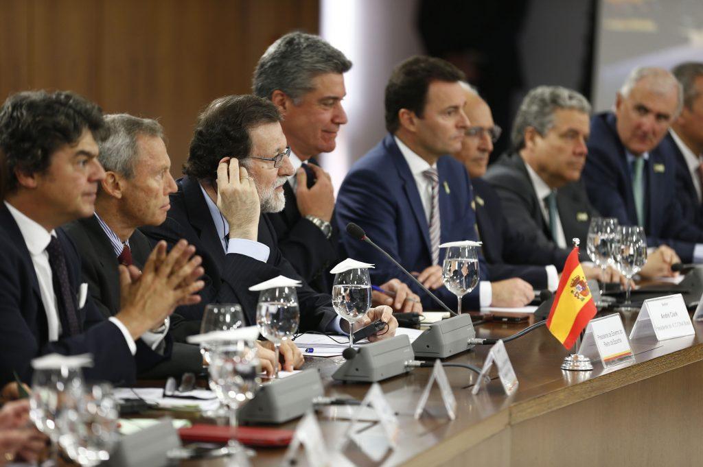 24/04/2017 Brasilia, Brasil El Presidente del Gobierno Mariano Rajoy durante su viaje a la República Federativa del Brasil. Fotografías: Diego Crespo / Presidencia del Gobierno
