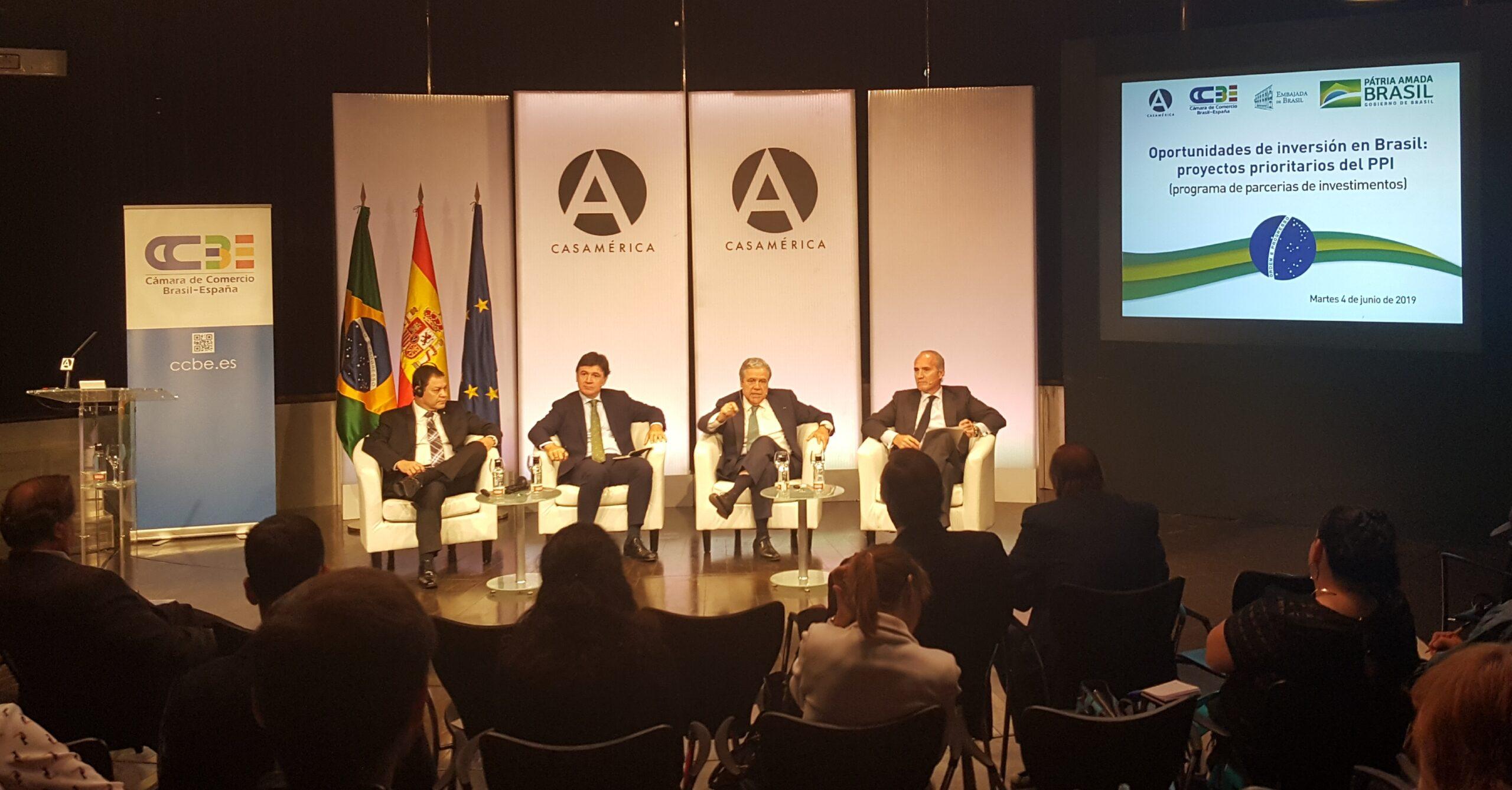 """""""Para las empresas españolas hay 101 oportunidades de inversión en Brasil en los sectores de ferrocarril, puertos, aeropuertos, carreteras, minería, energía, petróleo y gas""""."""