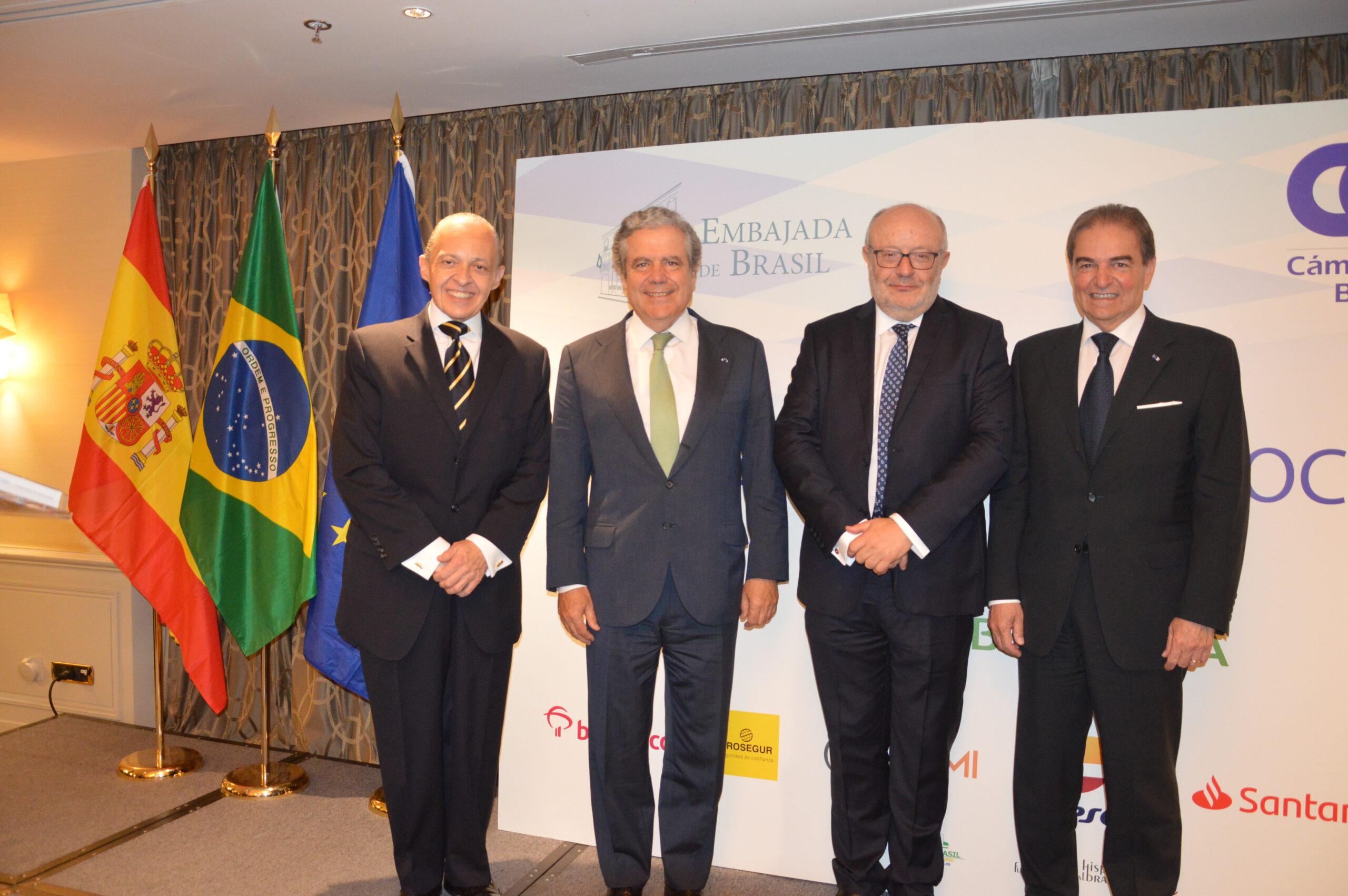 LA CÁMARA DE COMERCIO BRASIL-ESPAÑA REÚNE A MÁS DE 130 EMPRESARIOS EN SU TRADICIONAL CENA ANUAL