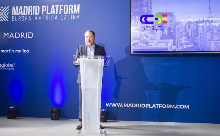 Sesión Pro Negocio Brasil-España en Madrid Platform