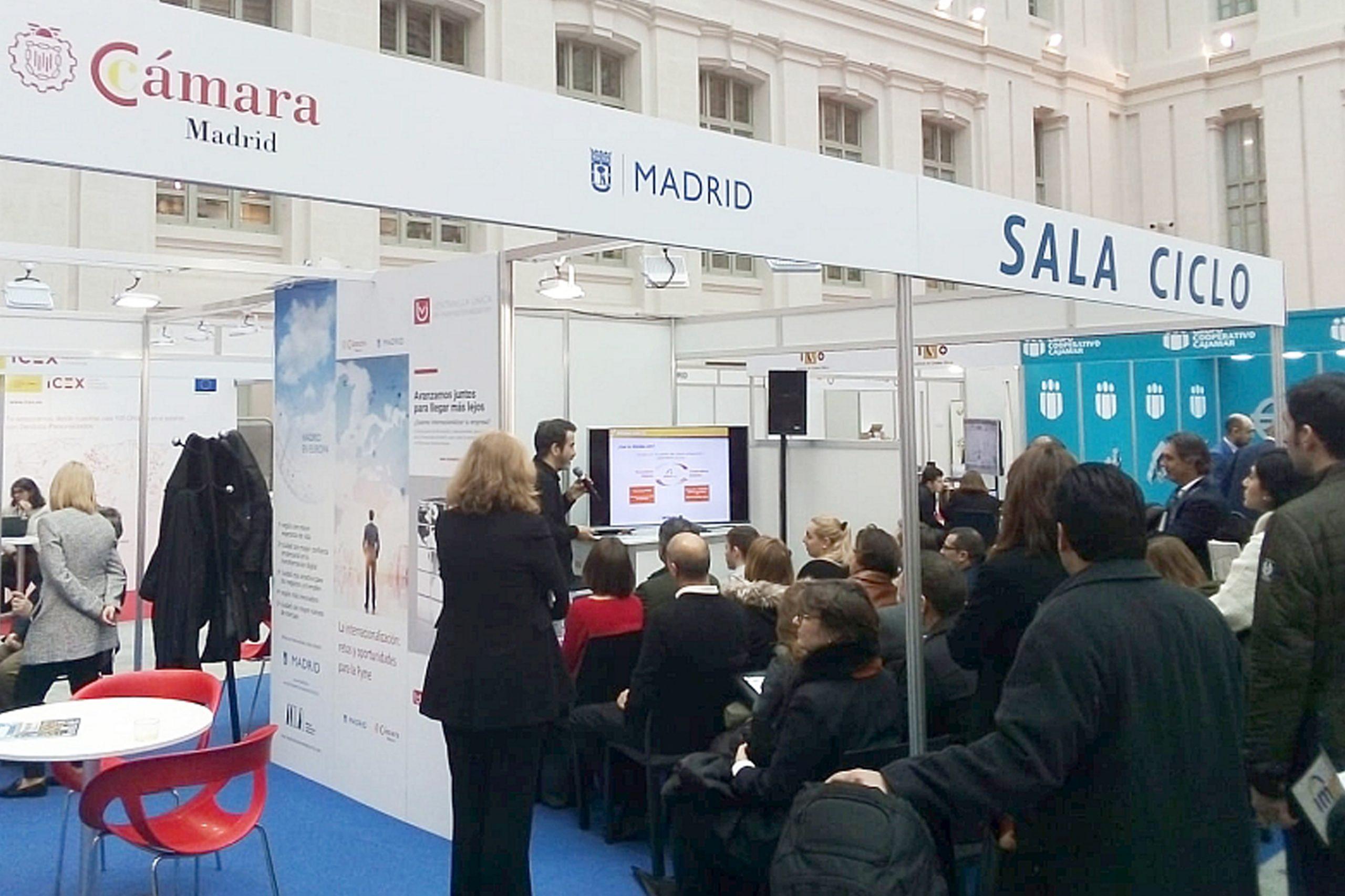 La CCBE ha participado en la Feria IMEX-Madrid